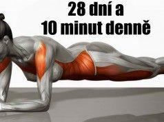 5 jednoduchých cviků, které změní vaše tělo k nepoznání pouze za 4 týdny.