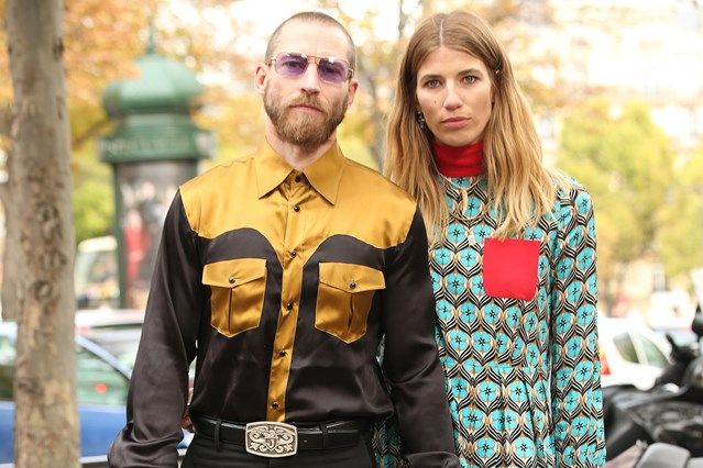 Paris shopping tips from the street-style couple du jour