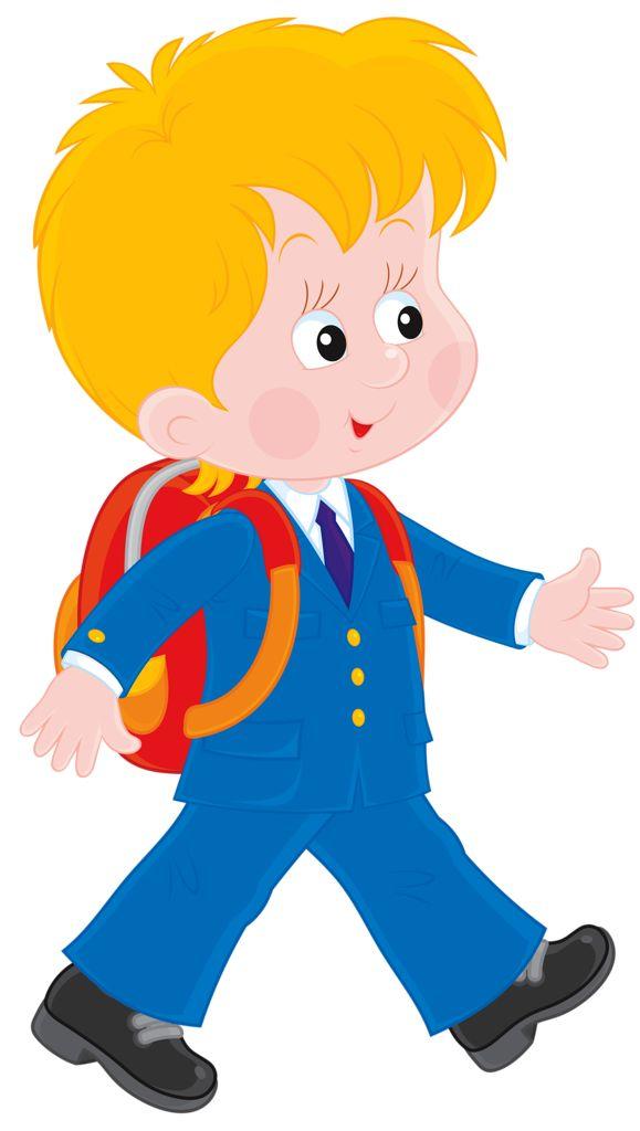 в школе | preschool | Animation schools, School clipart и ...