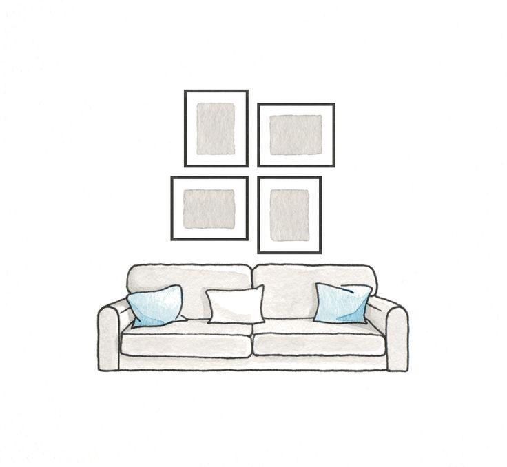Composición de cuadros_ilustración_EM649Cuadros3