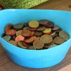Erstaunlich viel sparen mit dem Kleingeldkörbchen