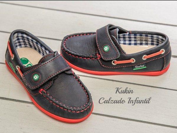 68a28a842 Náuticos azul marino Gorila Zapatos niño - calzado infantil - calzado  juvenil - niños - zapateria infantil kukin