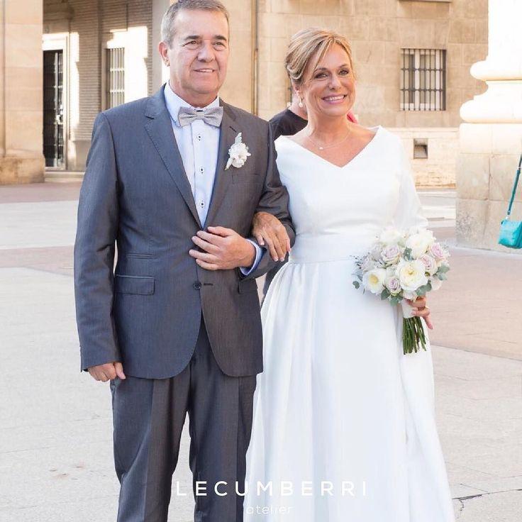 L E C U M B E R R I atelier  #lecumberriatelier #lecumberri #lecumberrinovias #novia #novias #wedding #weddingdress #vestidodenovia #boda #bodas #bodas2016 #novias2016 #bodas2017 #weddingstyle