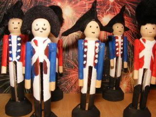 CC Week 3 & 4:  American Revolution Wooden Toy Soldiers
