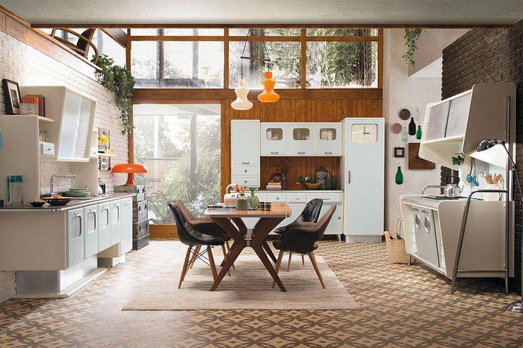 Cucina vintage anni '50 01