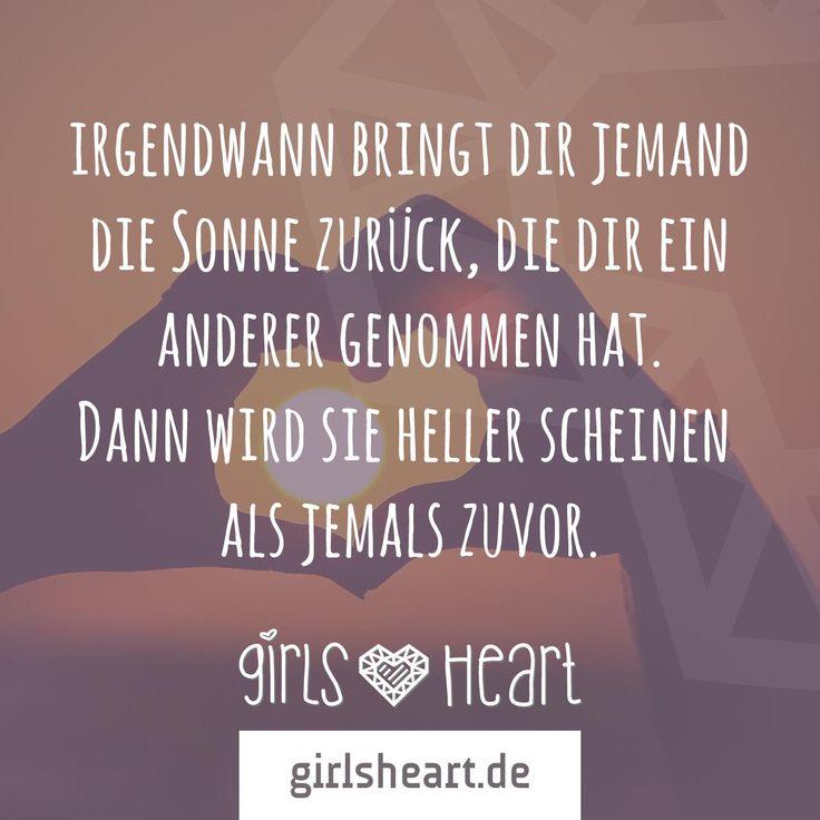Mehr Sprüche auf: www.girlsheart.de #hoffnung #liebe #freundschaft #partnerschaft