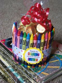 Kandy Kreations: Color My World Thank You Gift