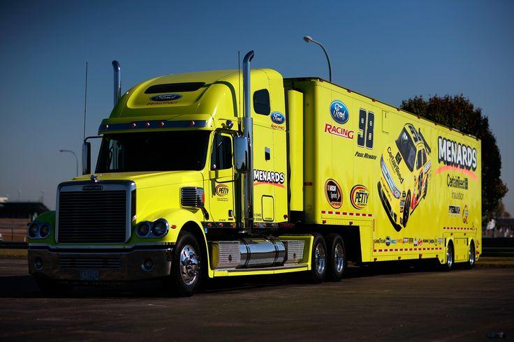 #98 Paul Menard  Richard Petty Motorsports Hauler
