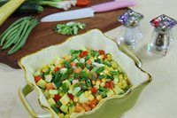 Vegetable Confetti. A bright and light vegetable side dish.