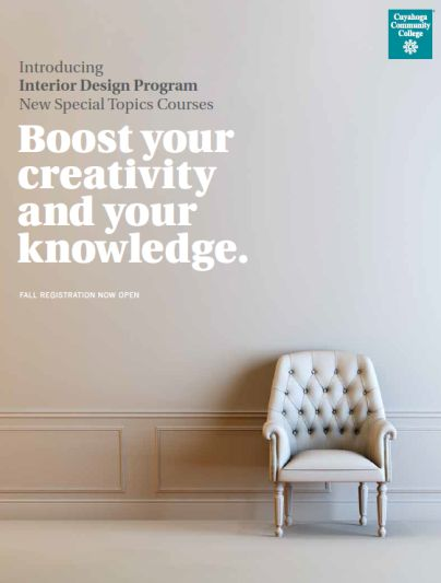 New Special Topics Courses Include Environmentally Responsible Interior Design Furniture Deconstructed Coordinating Spaces For A Cohesive Home