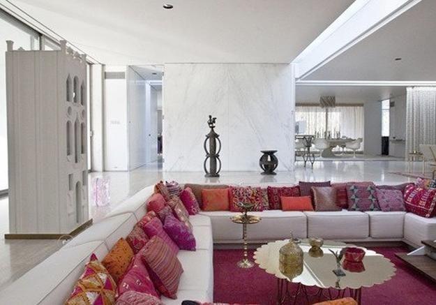 Slaapkamer Arabische Stijl : Miller House Living Room