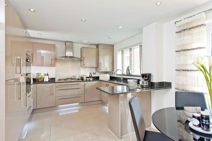 taylor wimpey kitchen with granite - Google Search