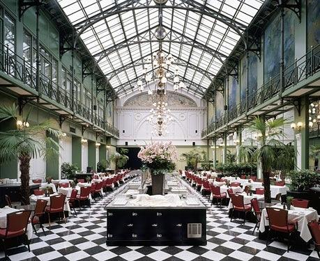 Amsterdam-Grand-Hotel-Krasnapolsky-  a little spot for breakfast!