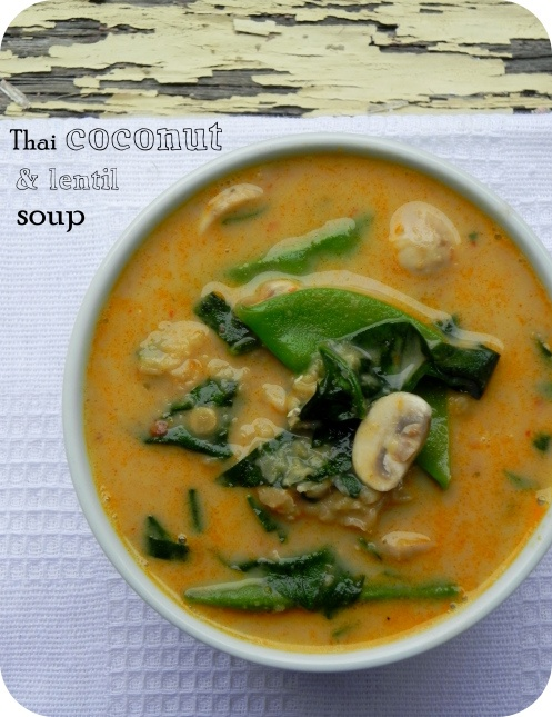 spicy coconut and lentil soup | Recipes I will share with my kids | P ...
