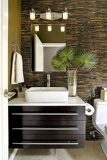 Small Bathroom Furniture & Bathroom Storage #bathroomdesign