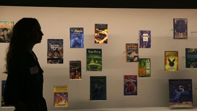 Harry Potter exhibit marks 20th anniversary