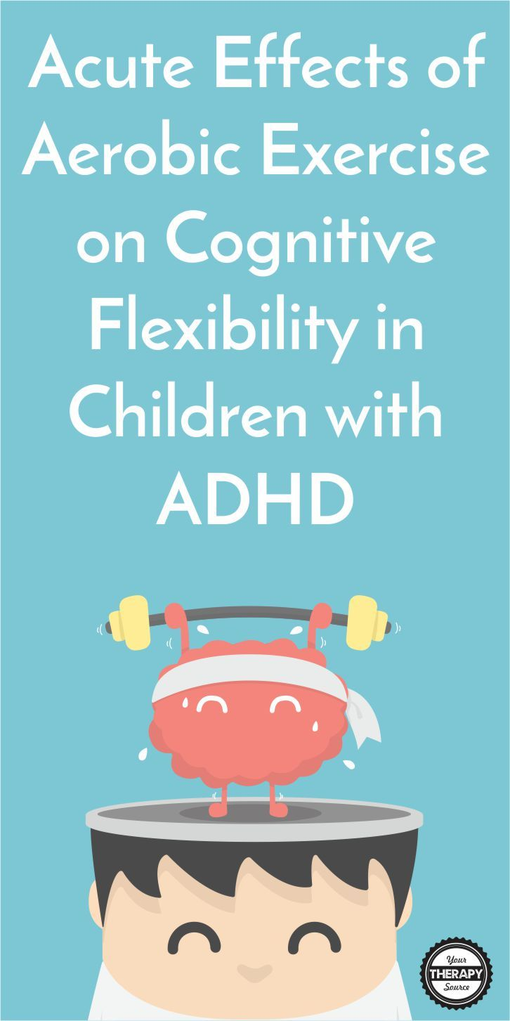 Journal of Attention Disorderspublished research investigated the acute effects of aerobic exercise on cognitive flexibility in children with ADHD along with heart rate variability.