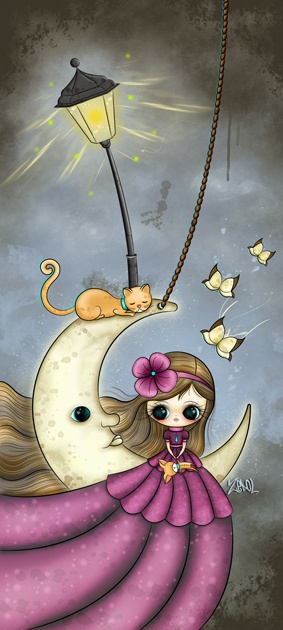 Luna con rostro by Zepollita.deviantart.com
