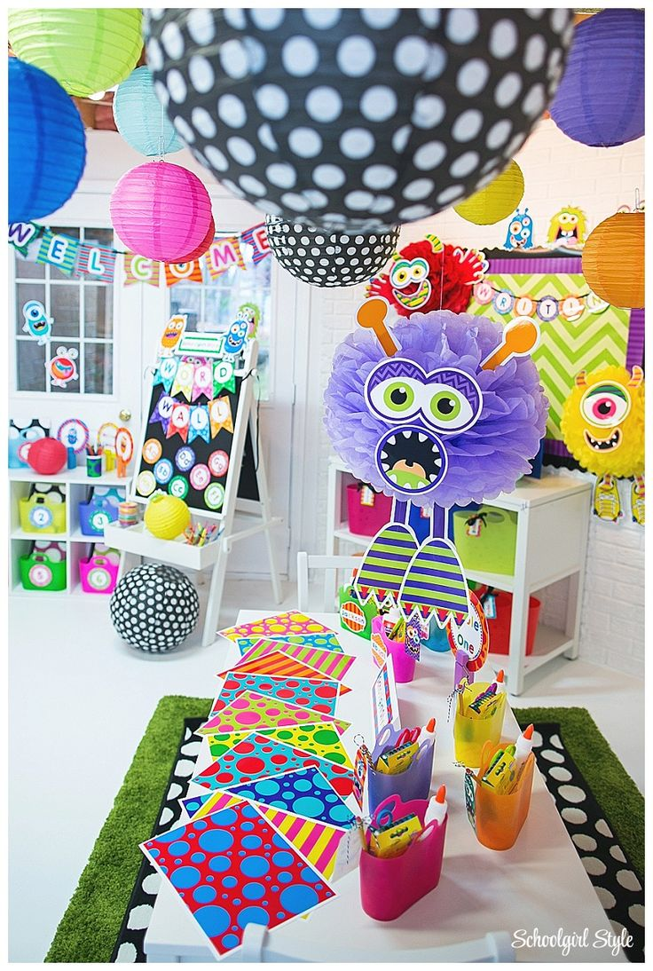 Monster Classroom Decor : Best classroom theme ideas images on pinterest