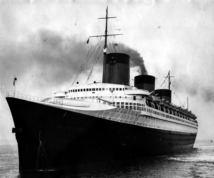 In the evolution of the ocean liner, the ultimate state of the art is generally conceded to have been THE FRENCH LINE pre-WW2 flagship, SS NORMANDIE (SSN).