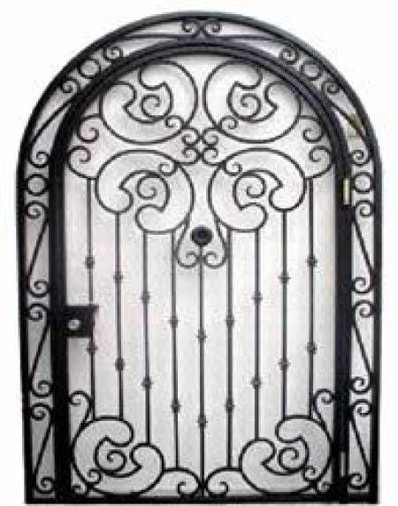 Herreria en general puertas ventanas protecciones etc for Puertas de herreria forjada
