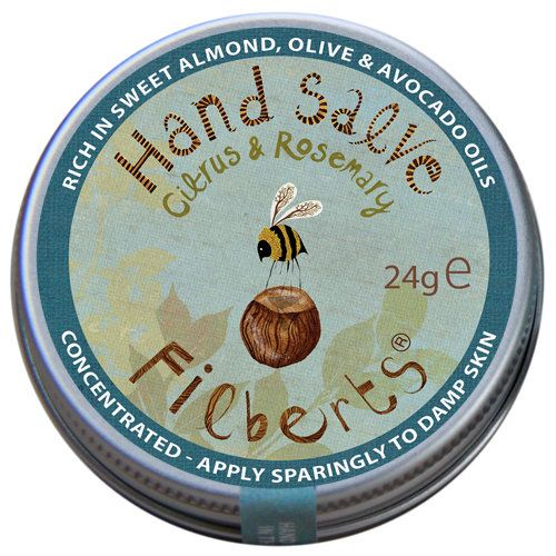 Country Living / Filberts Bees / Hand Salve - Citrus & Rosemary