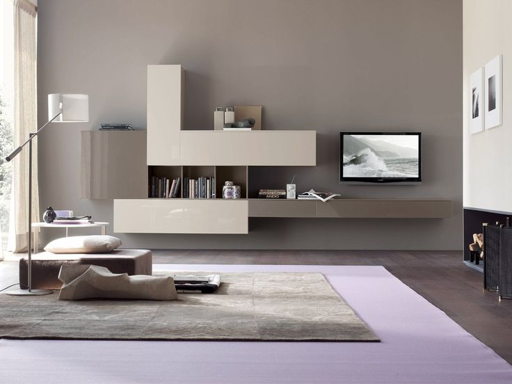 TV Wall Cabinet By Tomasella Lacquered Finish. Available At Archisesto.  Finishes: Smoke Black 231 Open Pore Lacquered And Chalk White 221 Open Pore  ...