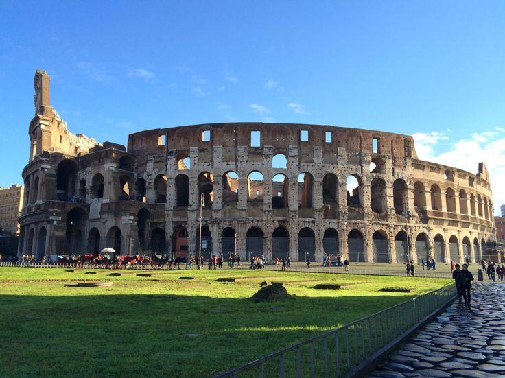 Coliseo romano. Roma, Italia.
