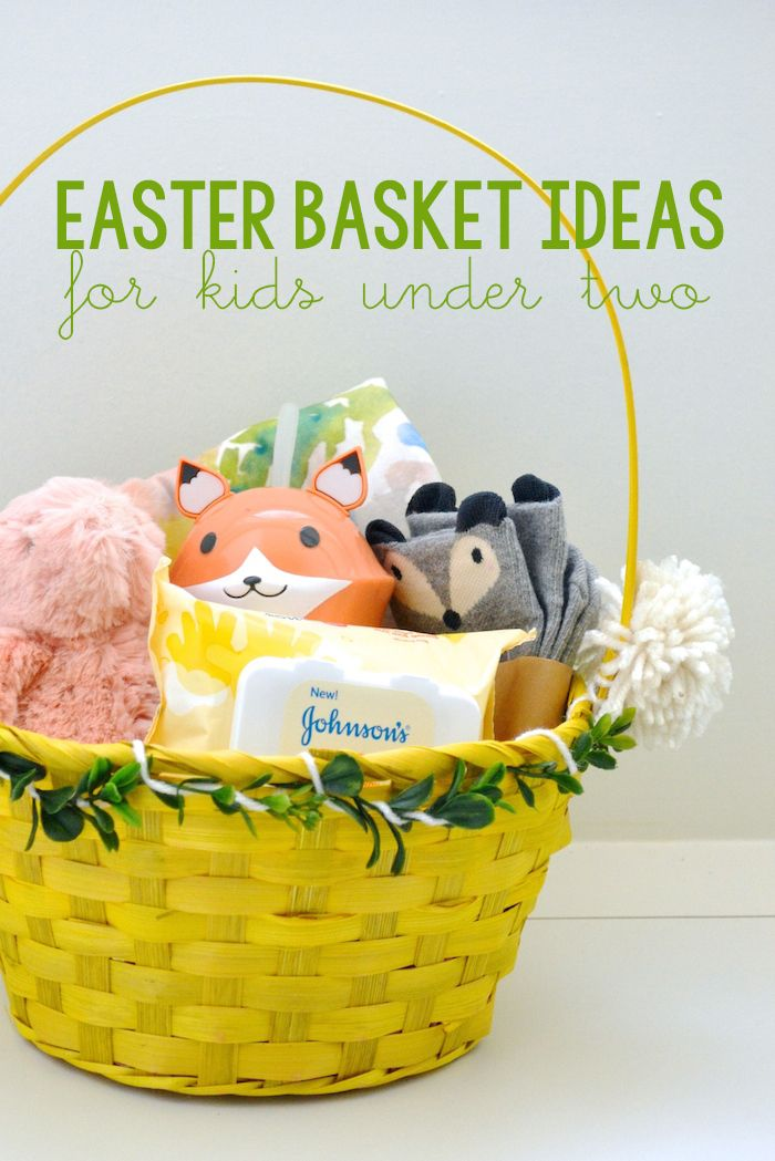 The 25 best baby easter basket ideas on pinterest easter easter basket ideas for kids under two thehiveblog negle Gallery