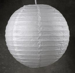 """Paper Lanterns 12"""" White Ball Hanging Lantern"""