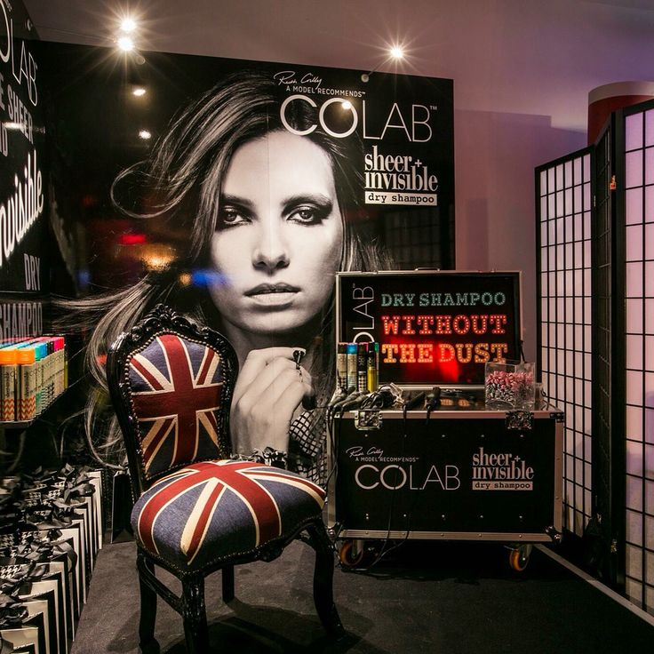 The stand backstage at #BRITs BRITsSpa