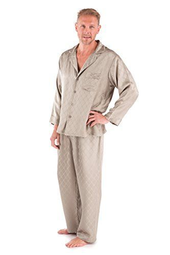 Mens Luxury Silk Pajamas Set  Sagacity XL  PJ Set for Men Gifts for Men Him Presents for Guys Boyfriend Husband Gift Ideas for Men Him Guys Great Perfect Good Best Elegant Cool Guy Gifts Ideas Men Him Romantic Gifts for Men Husband Boyfriend Romantic Intimate Gift Love Clothing 0055XL *** For more information, visit image link.