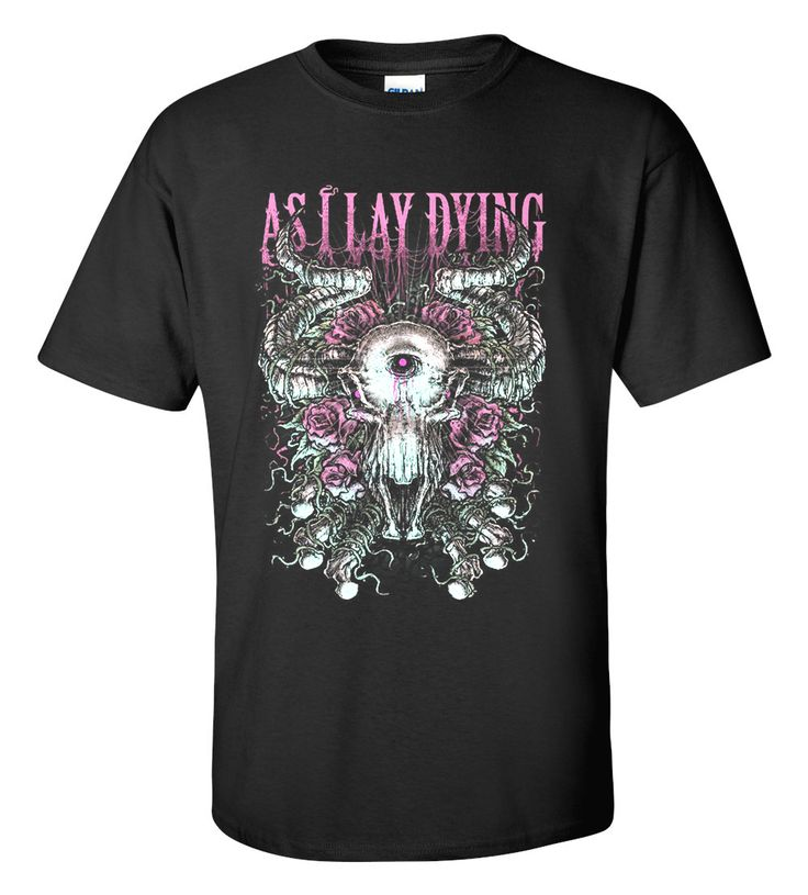 As I Lay Dying T-shirt M/L/XL/2XL/3XL Clothing Tshirt