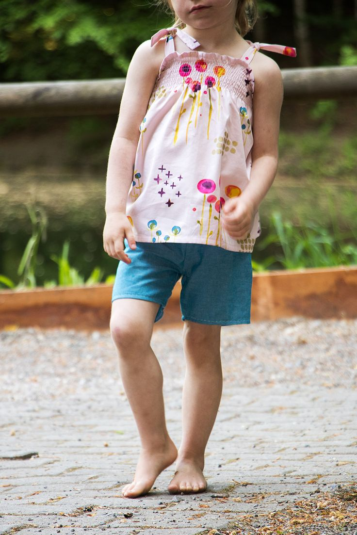 Einfache Sommerkleider mit Smoktechnik   Sommer kleider ...