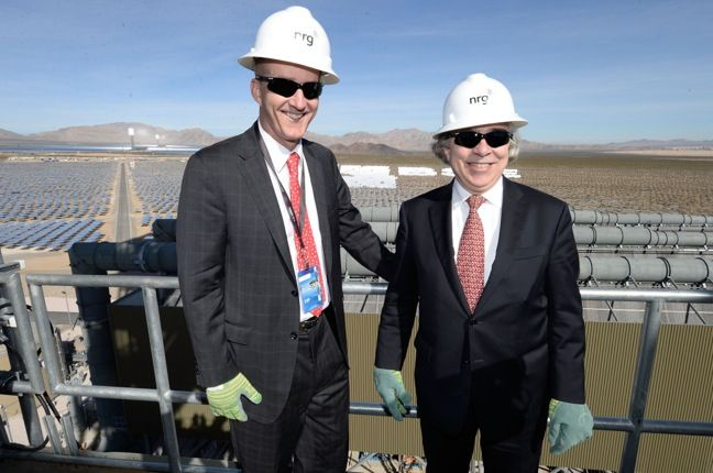 INTERVIEW: NRG Energy CEO David Crane on the Ivanpah Solar Plant