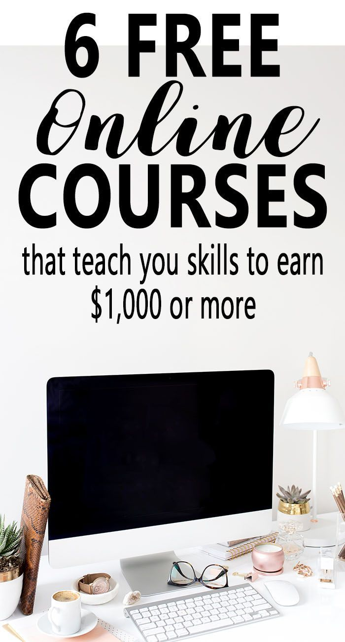 Free Courses For The Best Side Hustles in 2019