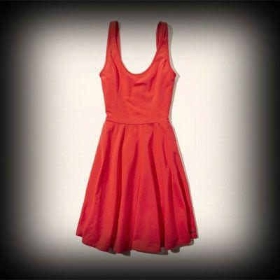 ホリスター レディース ドレス Hollister McGrath Beach Dress ワンピース ★ホリスターを代表するLOGOマークのメタルプレートがワンポイント! ★シンプルなデザインなので1枚持っていると着回しができて便利。