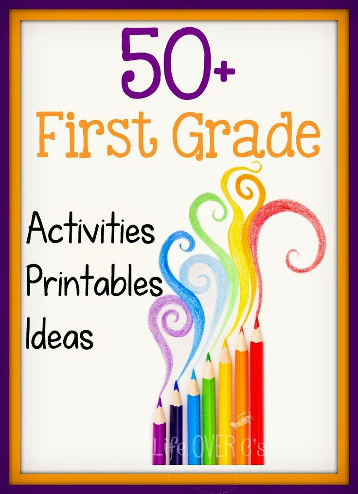 50+ 1st Grade Activities, Printables and ideas