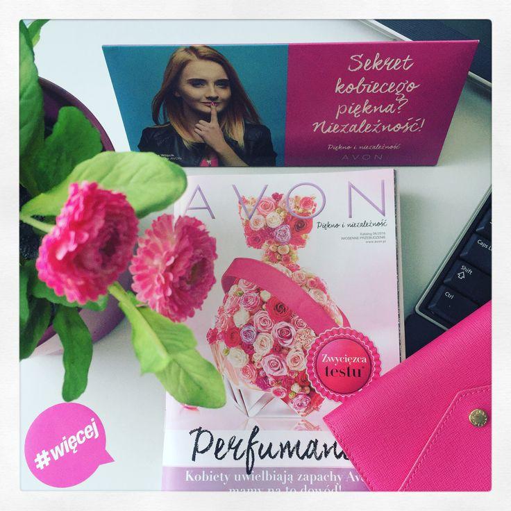 #avon #office #więcej #flower #pink #perfumania