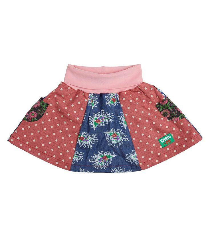 Weekend Away Skirt, Oishi-m Clothing for kids, Winter Break 2017, www.oishi-m.com
