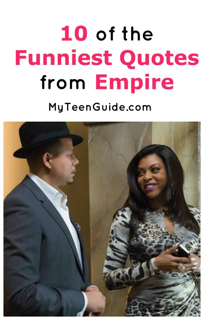 Looking for the funniest quotes from Empire? Check out 10 of our all-time favorites from the hit FOX TV show!