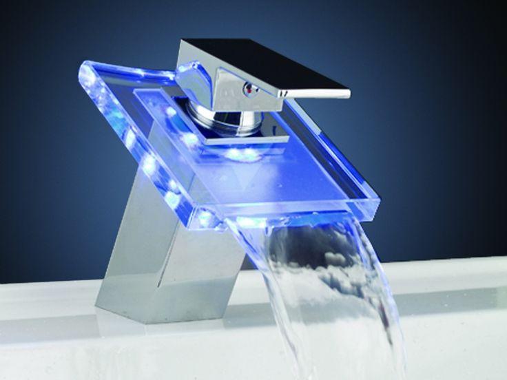 Robinet RUSOMO avec LEDs - éclairage changeant selon la température