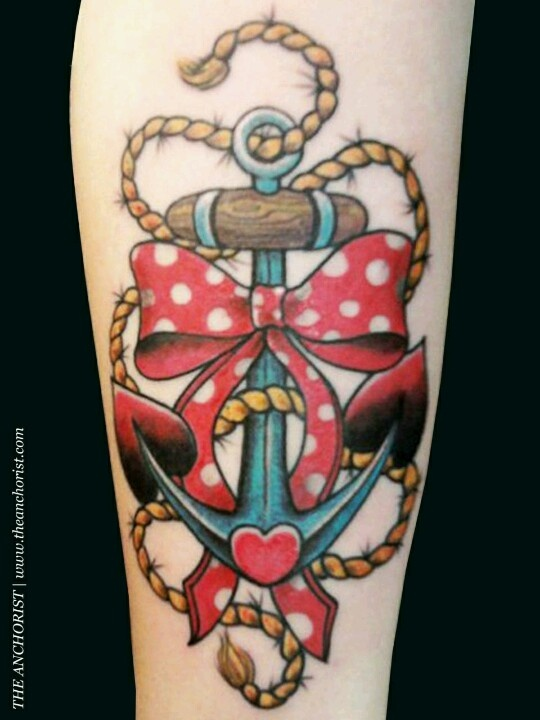 Love the pinup type anchor