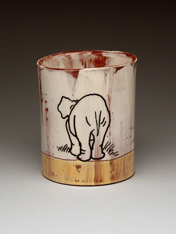 Luba Sharapan TUMBLER at MudFire Gallery
