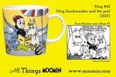 Moomin.com - Moomin mug Snorkmaiden and the poet / Snorkfrøken og poeten / summermug / sommerkopp 2013