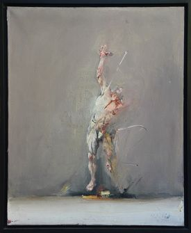 Ahmed Shahabuddin Shahabuddin, Le Guerrier, Painting