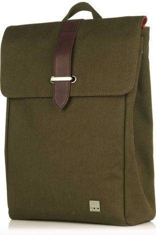 "Falmouth Olive 15"" Laptop Backpack from KNOMO 