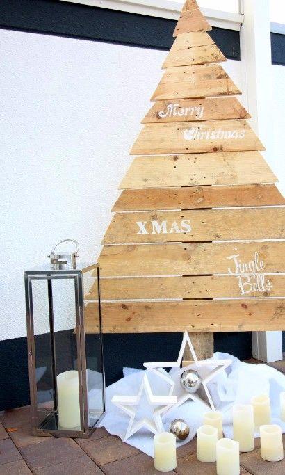 Weihnachtsdeko aus paletten anleitung europ ische weihnachtstraditionen - Weihnachtsdeko palette ...