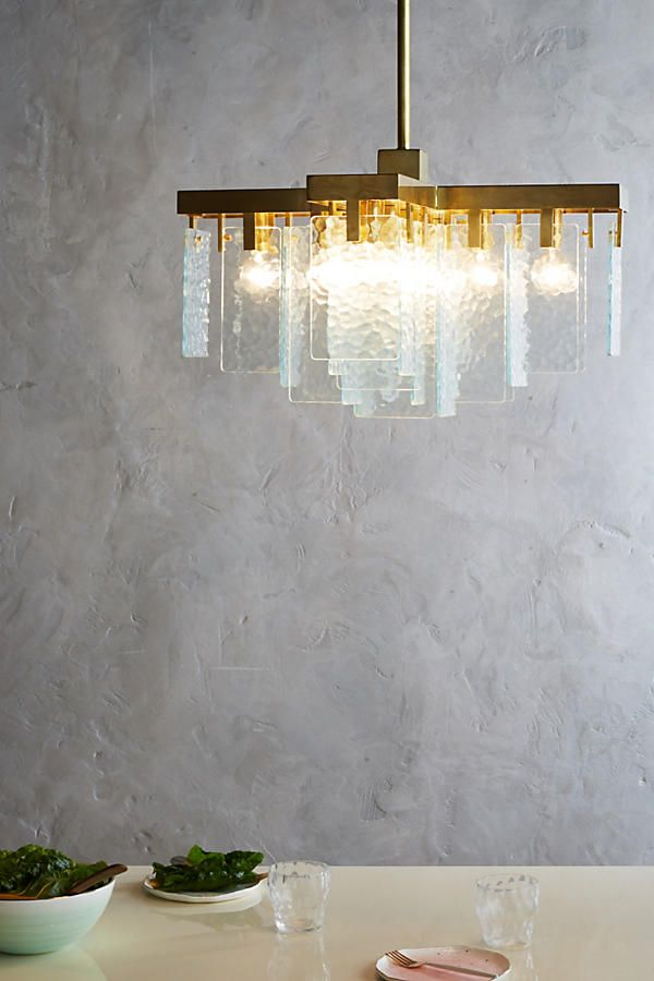 Awesome Crossed Cascade Chandelier