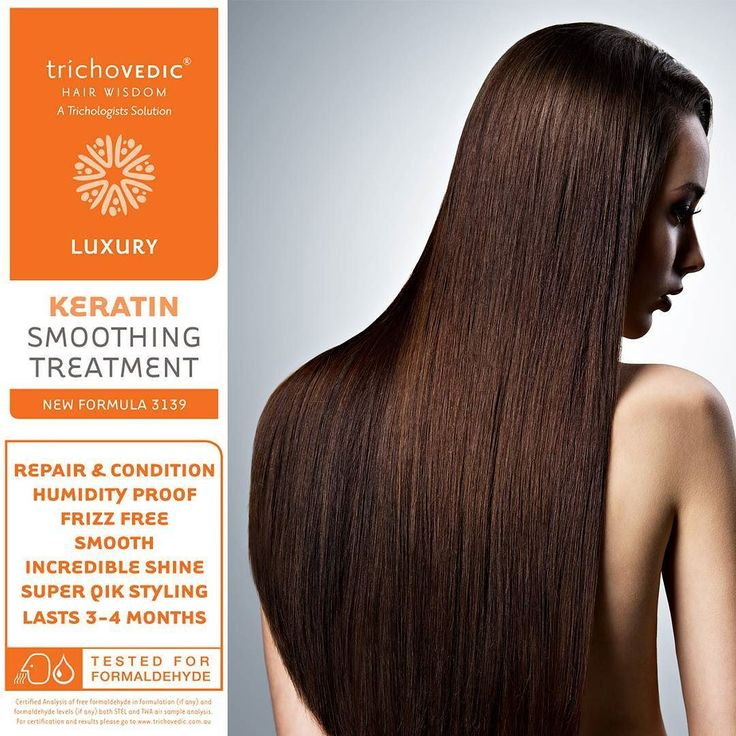 Invented in Brazil  - Perfected in Australia  A revolutionary hair treatment service that was originally developed in Brazil Luxury Keratin Smoothing Treatment infuses and bonds KWS TriProtein Complex into and onto the cuticle layer of the hair shaft. Combined with amino acids silicones and anti static agents the results are quite simply remarkable; incredible shine smoothness enhanced strength and condition frizz free and humidity proofed.  The hair can be straightened around 80-90% using…